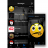 Private messaging with audible emoticons